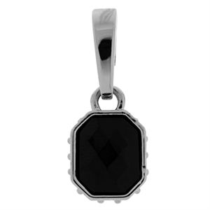 Picture of Black Faceted Droplet
